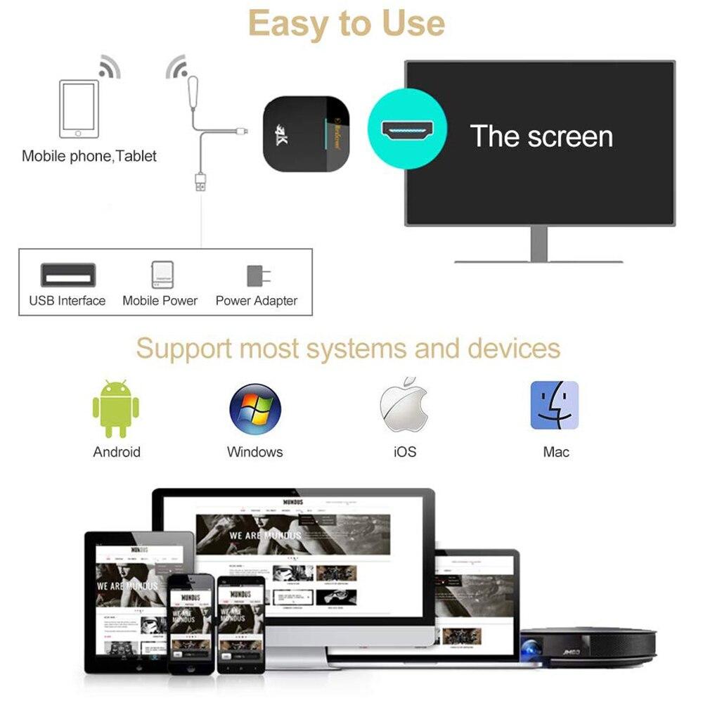 MiraScreen Wifi 2,4G 5G палка зеркало для Android Мини ПК Iphone Apple TV Anycast оригинальный HDMI беспроводной адаптер дисплей ключ