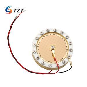 Image 2 - TZT 34 мм Капсула большая мембранная конденсаторная микрофонная капсула двухсторонняя позолоченная для записи студии Micphone