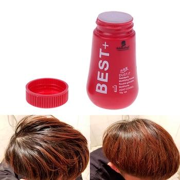 Пушистые тонкие волосы порошок пыль лак для волос увеличивает объем волос захватывает стрижку унисекс моделирование укладки порошок масло...