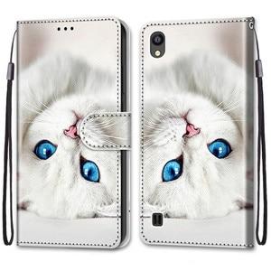 Image 2 - Cool สัตว์ Flip สำหรับใบมีด ZTE Blade 20สมาร์ท A5 A3 A7 V10 Vita 2020 A6 Lite L8 2019กระเป๋าสตางค์หมีสิงโตหมาป่าแมว