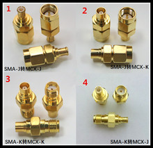 3PCS RF SMA adapter MCX JJ JK KK public to transfer radio frequency