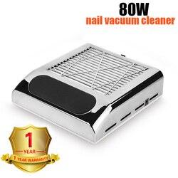 Профессиональный 80 Вт пылеуловитель для всасывания ногтей 110 В/220 В лампа для ногтей Сушилка для ногтей автоматическое определение 10s быстро...
