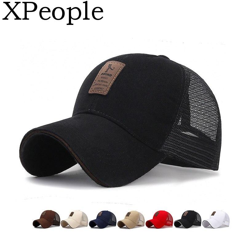 XPeople Trucker Hat Snapback Mesh   Baseball     Cap   Black Clean Up Adjustable Hat