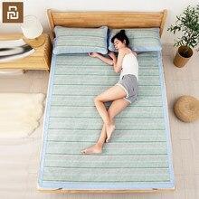 Xiaomi Como Vivendo Tapete de fibra de bambu Verão conjunto Verão Mat Legal tampa de cama lençol Capa de Colchão Conjunto protetor de colchão para dormir