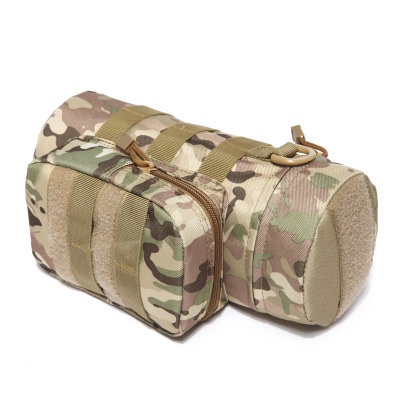 Military Kettle Bag for Molle Tactical Backpack Army Water Bottle Bag Pouch Outdoor Hunting Hiking Waist Kettle Pouch Waist Bag 4