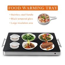 все цены на ITOP 400W Food Heating Plate Glass Embedded Surface  Food Warm Tray Machine Hot Plate 220V Keep 80 Celsius онлайн