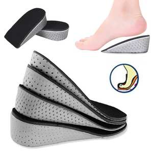 Insole Air-Cushion Shoe-Inserts Heel Memory-Foam EVA Height-Increase Lifts-Pad Taller