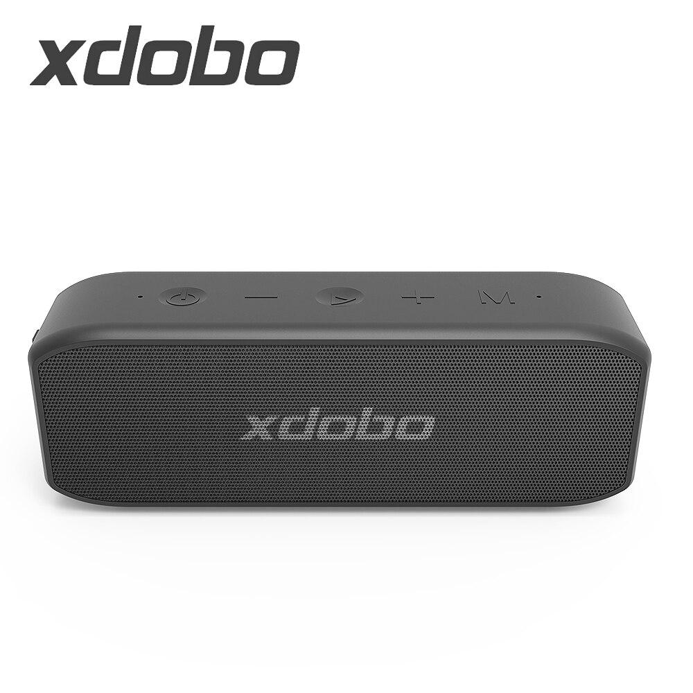 Портативные Bluetooth колонки XDOBO Wing 2020, настоящие беспроводные стерео колонки с супер басами, водонепроницаемые колонки, саундбар, сабвуфер