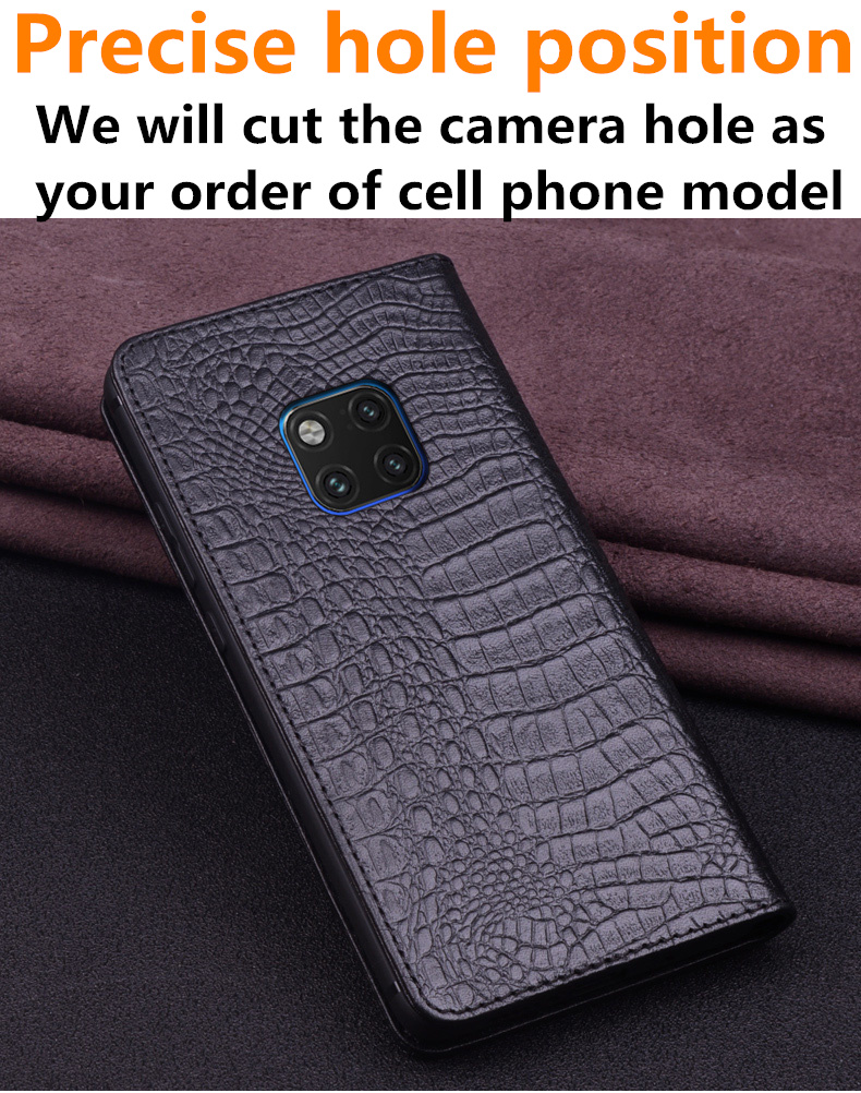 Image 2 - Natural genuine leather ultra thin case for Xiaomi Mi A3/Xiaomi  Mi A2/Xiaomi Mi A1 flip case leather cover standing phone bagFlip  Cases