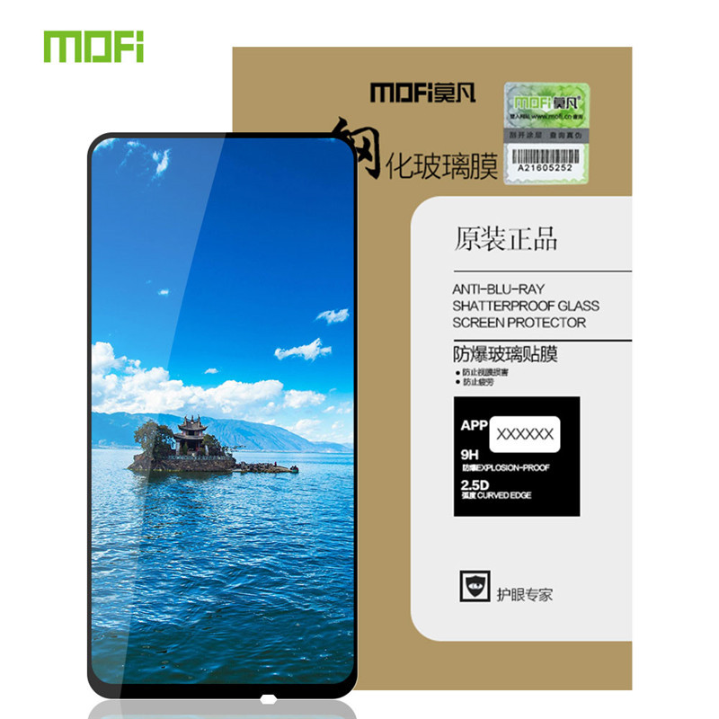 MOFI For Meizu 16X 15 16 Pro7/6 Plus Tempered Glass Full Screen Coverage Tempered Glass Screen Protector For Meizu X8 16x Mx6