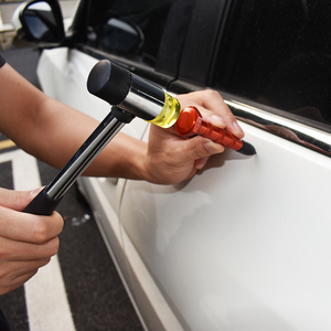 Image 5 - 車デントリペアツールキットゴムハンマータブプラー保護オリジナル塗装自動車修理ハンドツール