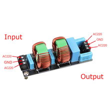 цена на 18A 3900W EMI High Frequency Power Filter Finished Board for amp Amplifier Board