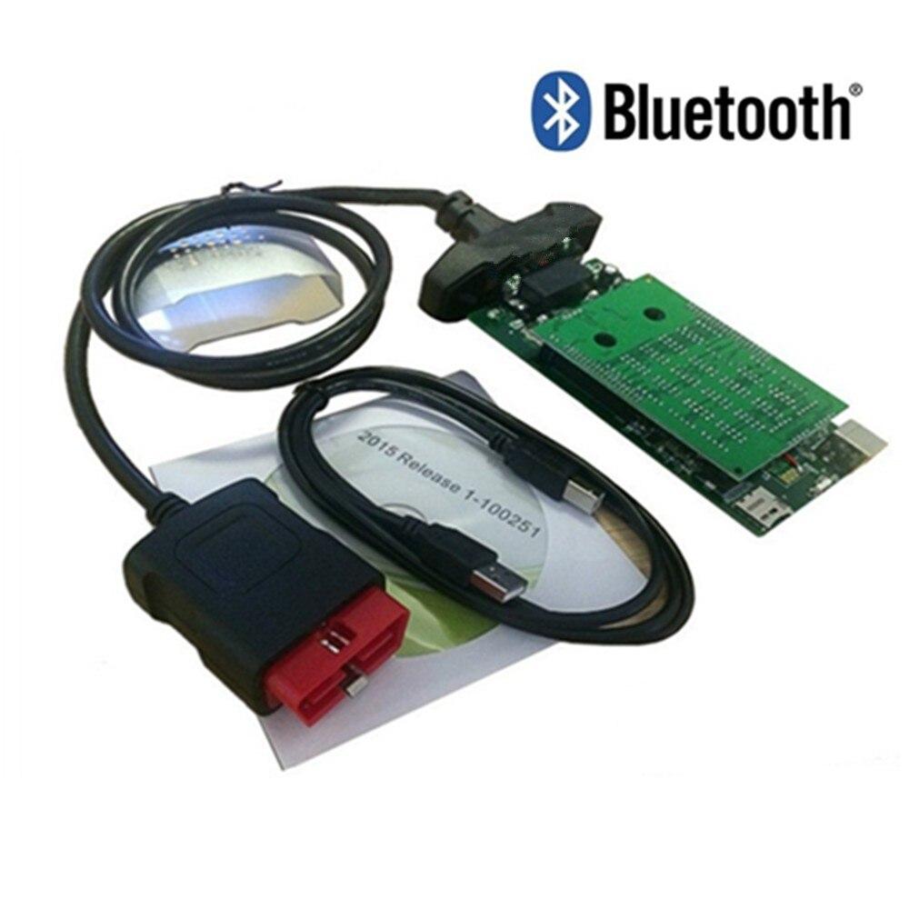 Vd Ds150e Cdp Новинка,0 с Bluetooth TCS CDP PRO Plus для delphis OBD поддержка сканирования больше автомобилей грузовиков Vci диагностический инструмент - Цвет: with bluetooth
