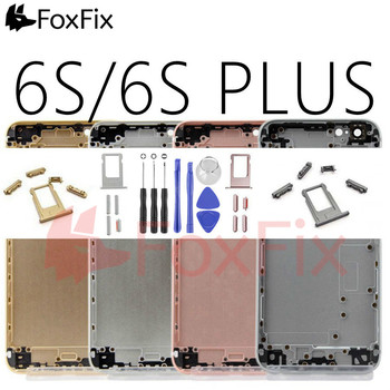 Back Housing For Apple iPhone 6 Plus Housing Cover Rear Battery Door Middle Bezel Chassis For iPhone 6 6S Plus Back Housing