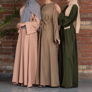 Abaya Dubai Turkey Arabic Muslim Fashion Hijab Dress Kaftan Islam Clothing Dresses For Women Vestidos Robe Musulman De Mode Oman