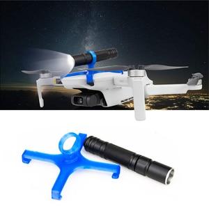 Image 3 - Light Wight LED Light for DJI Mavic Mini Drone Night Flight Searchlight Bright Adjustable Flashlight Electric Torch Accessory