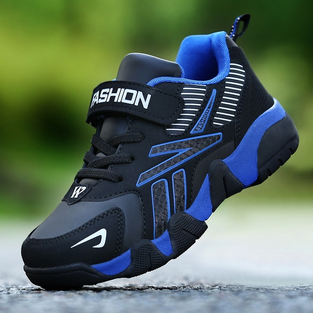 Children Sneakers Shoes Leather Anti-slippery  2