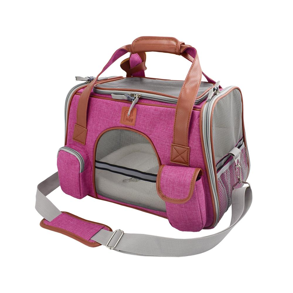 Pet Carrier For Cat Dogs Breathable Travel Transport Carrying Bag Sling Backpack Chihuahua Small Animals Handbags