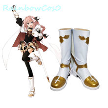 RainbowCos0 Gratis Pengiriman COSPLAY Shoes NASIB Grand Order FGO Fate/Apocrypha FGO Astolfo Boots Alat Peraga Permainan Anime Halloween(China)