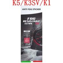 K5 motosiklet kask Anti sis filmi K5 K3SV K1 kaskları vizör Anti sis Sticker tam yüz motosiklet kask aksesuarları ve parçaları