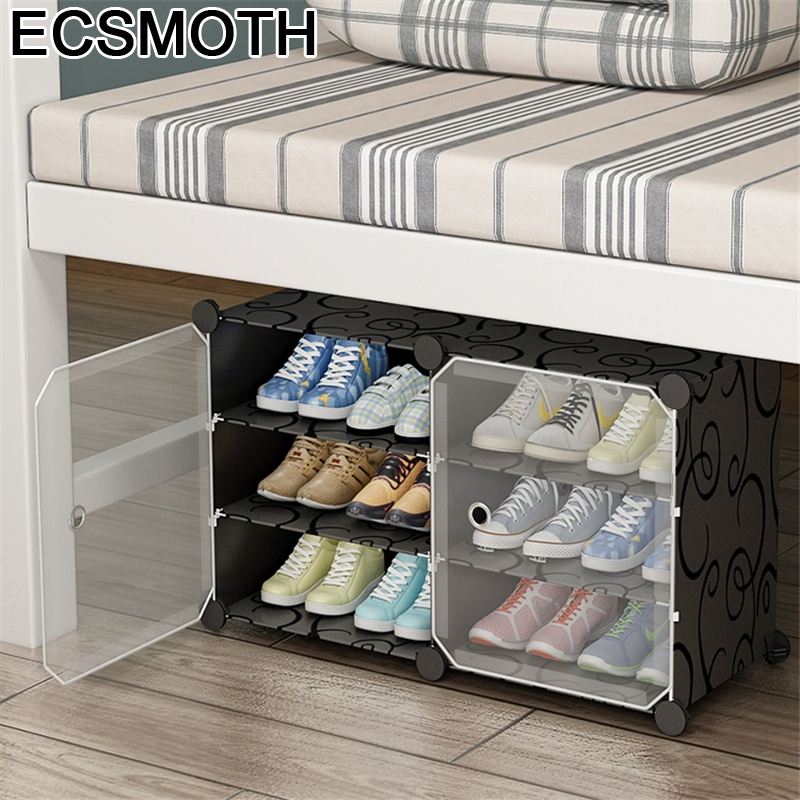 Minimalist Armoire Mueble font b Closet b font Schoenenrek Zapatera Organizador Rack Scarpiera Furniture Meuble Chaussure