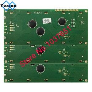 Image 2 - 1 pièce grand écran LCD de caractère 2004 20*4 vert bleu 146*62.5mm HD44780 LC2042 AC204B SBS02004A0 bonne qualité