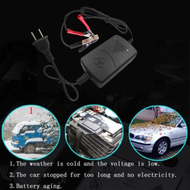 12V <font><b>Battery</b></font> <font><b>Charger</b></font> For <font><b>Car</b></font> Truck Motorcycle Maintainer Amp Volt <font><b>Trickle</b></font> Portable Auto <font><b>Trickle</b></font> Maintainer Boat Motorcycle RV image