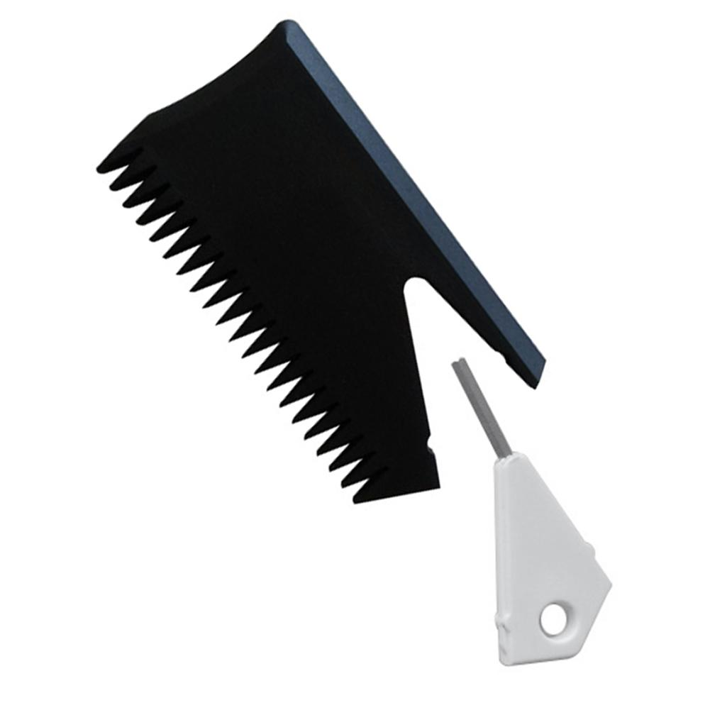 Peigne à cire de planche de Surf avec clé à ailettes