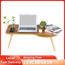 Soporte plegable para ordenador portátil, diseño ergonómico en cama, sofá, mesa de PC, escritorio ajustable para ordenador