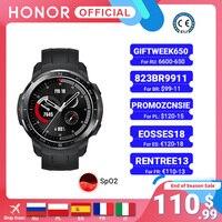 Honor-reloj inteligente deportivo para hombre, accesorio de pulsera resistente al agua hasta 5atm con Bluetooth, control del ritmo cardíaco, llamadas y SpO2, versión Global, GS Pro