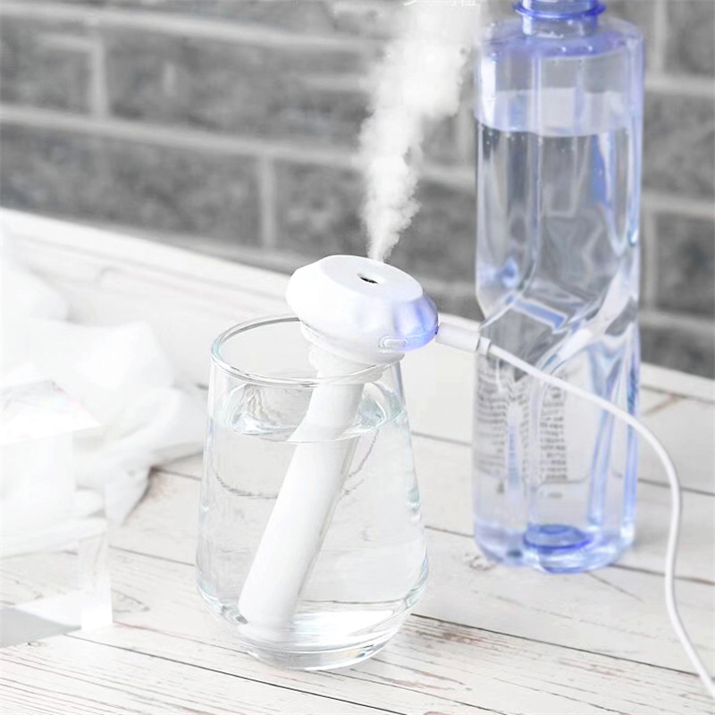 Bottle Air Humidifier USB Aromatherapy Diffuser For Home Mist Maker Essential Oil Nebulisation Humidificador Detachable
