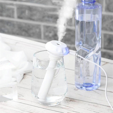 Bottle Air Humidifier USB Aromatherapy Diffuser For Home Mist Maker Essential Oil Nebulisation Humidificador Detachable цена 2017