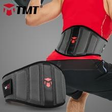 Tmt重量挙げ腰サポートベルトガードルのためジム重量フィットネスパワーリフティングダンベルトレーニング腰椎バックサポートベルト