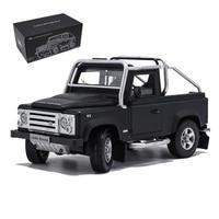 Off road pickup 90 classic SVX SUV defender 1/18 scale metal alloy die cast car model children kids toys indoor display