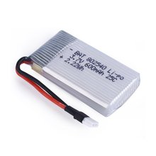 цена на 3.7V 600mAh 25C Lipo Battery Spare Parts for Syma X5 X5C H5C X5SC X5A RC Quadcopter Exquisitely Designed Durable Gorgeous