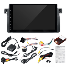 """9 """"Auto 1 Din Multimedia Android 8.0 1 + 16G Wifi Bluetooth Backup Camera Dvr Rds Usb Gps navigatie Voor Bmw E46 M3 Rover 75 Mg Zt"""