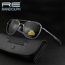 Randolph re óculos de sol homem mulher marca designer do vintage exército americano militar óculos de sol aviação gafas de sol hombre