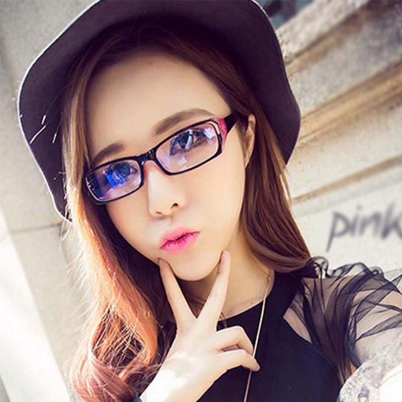 Unisex Radiation Protection Glasses Computer Eyeglasses Frame Anti-fatigue Goggles Blue Film Anti-Blue Plain Mirror Glass