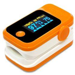 Dedo Clip pulso oxímetro PI pulso ritmo cardíaco saturación de oxígeno en sangre SpO2 Monitor D0AF