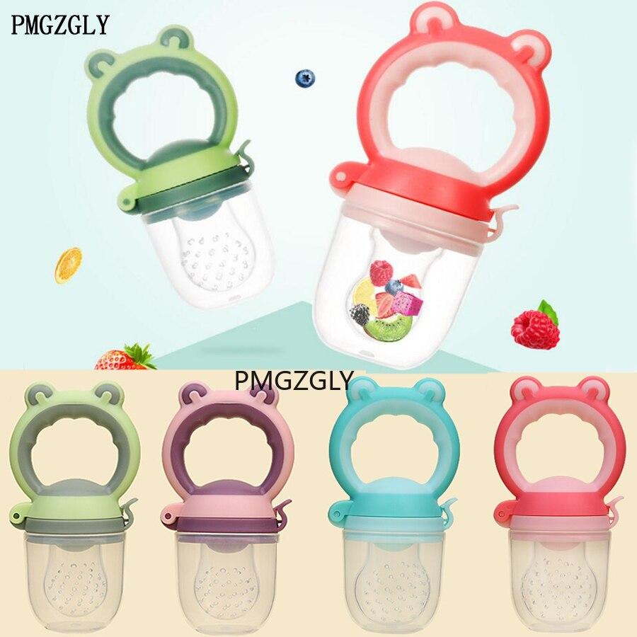 Silicone comida fresca nibbler alimentador do bebê crianças menino menina frutas mamilos alimentação segura infantil bebê suprimentos mamilo soother garrafas
