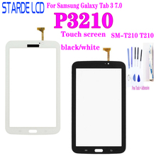 For Samsung Galaxy Tab 3 7.0 SM-T210 T210 P3210 Touch Screen Panel Digitizer Glass Replacement Not LCD+Tools
