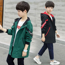 teenager Boys Jacket Autumn Winter Jacket For Boys Children Jacket Kids Hooded Warm Outerwear Coat For Boy Clothes недорого