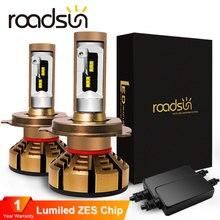 Светодиодсветодиодный лампы для автомобильных фар roadsun h7