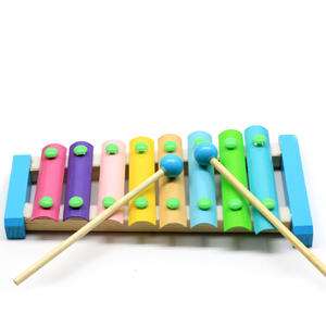 Wooden Xylophone Music-Instrument-Toy Children Learning-Toy Baby Music 8-Keys Kids Educational