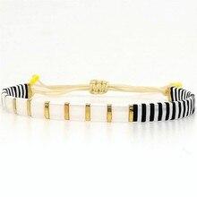 Go2boho Tila Beads Bracelet Women Perles Delica MIYUKI Bracelets Pulseira Mujer Moda 2019 Jewelry Bohemian Summer Beach Handmade