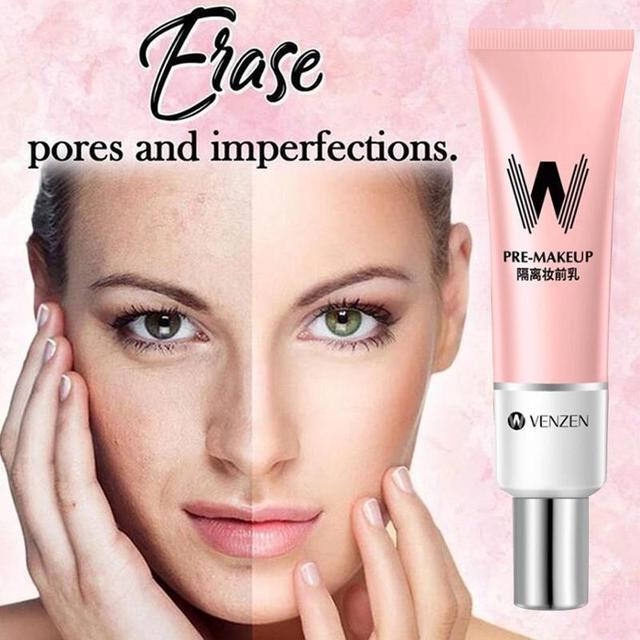Skin Invisible Pores Primer Make Up Base Smooth Face Brighten Makeup5