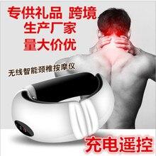 Cervical vertebra massager electric shock pulse cervical vertebra physiotherapy multifunctional cervical недорого