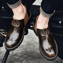 Мужские туфли из натуральной кожи размеры 38 46