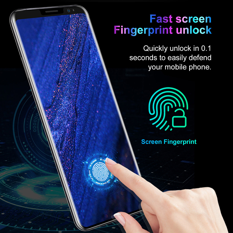 SOYES mate36 pro Mobile Phone Android Fingerprint Recognition 5.8inch 512M+ 4GB  New Camera Wifi Factory Phone 5