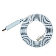 1pc 1.8m usb para rj45 usb para rs232 serial para rj45 cat5 cabo de console para cisco roteadores adaptador/cabo usb para rs232 serial a rj45
